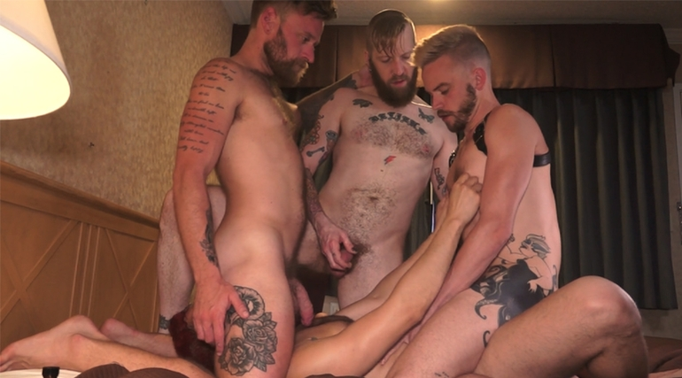Dawn Locke 4-Way with Andy Arcade, Pete ... in Pete Summers